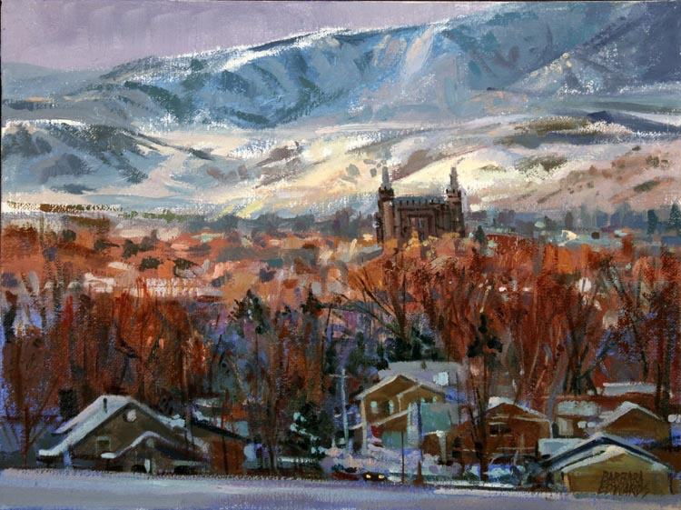 SOLD- On A Clear Day... by  Barbara Summers Edwards - Masterpiece Online