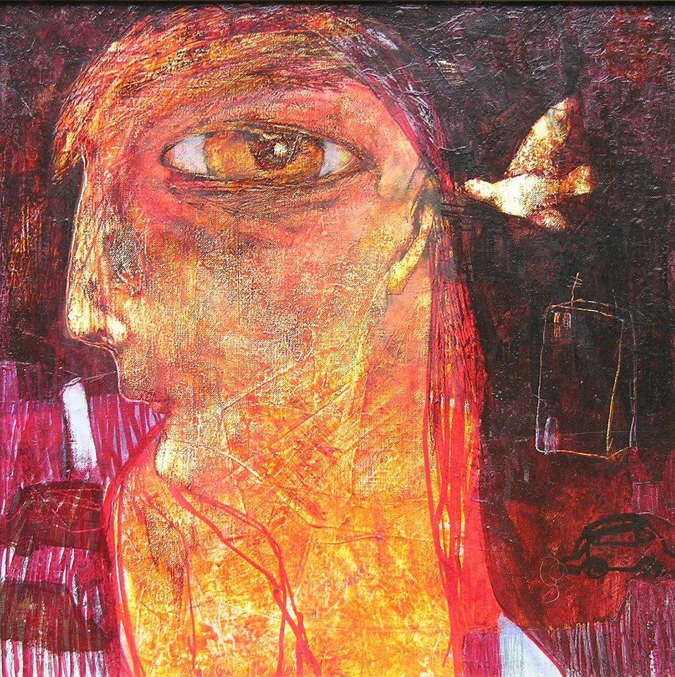 Hazel Eye Strange Life by  Ula Dzwonik - Masterpiece Online