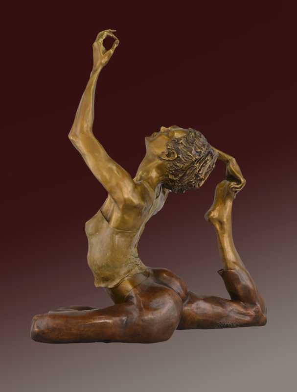 Yoga Bliss by  David Varnau - Masterpiece Online
