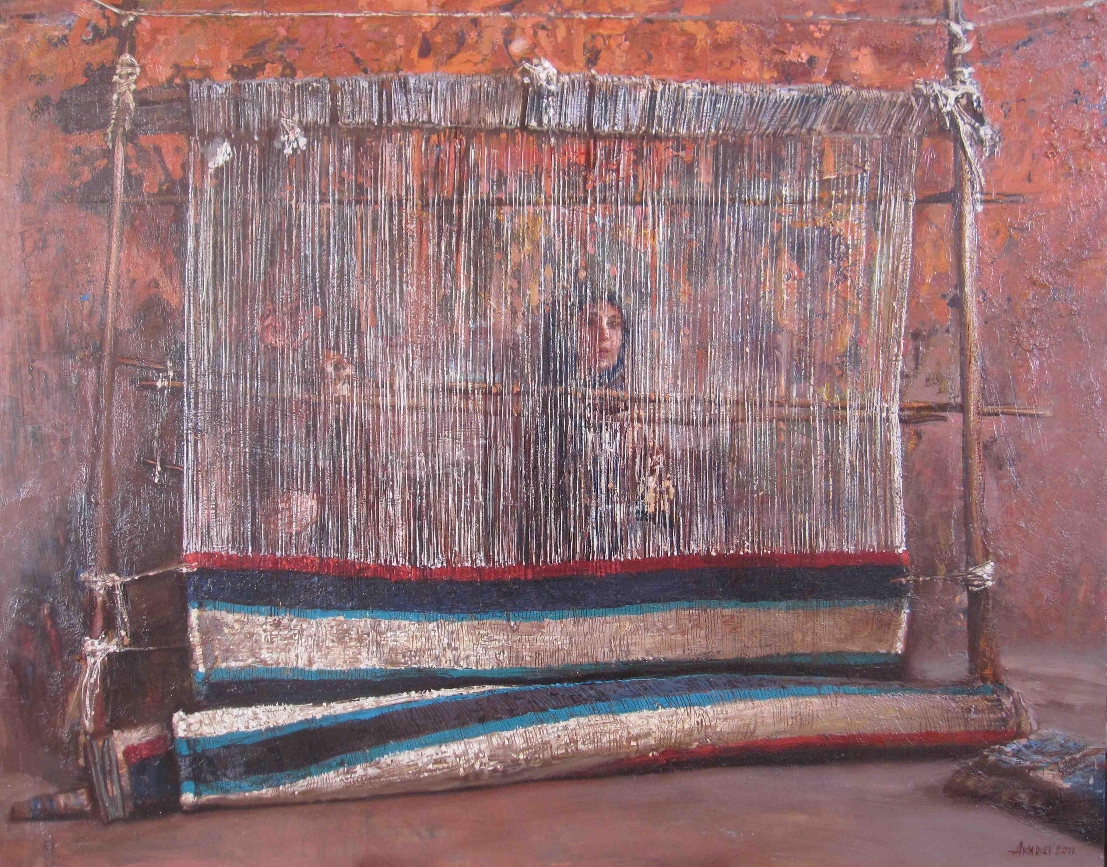 Weavers by  Daud Akhriev - Masterpiece Online