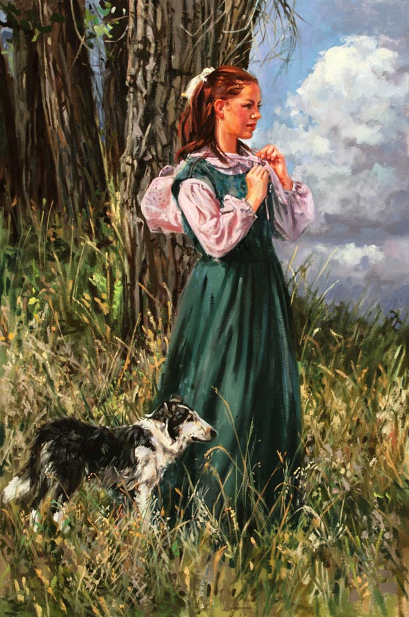 Where the Tall Grass... by  Barbara Summers Edwards - Masterpiece Online