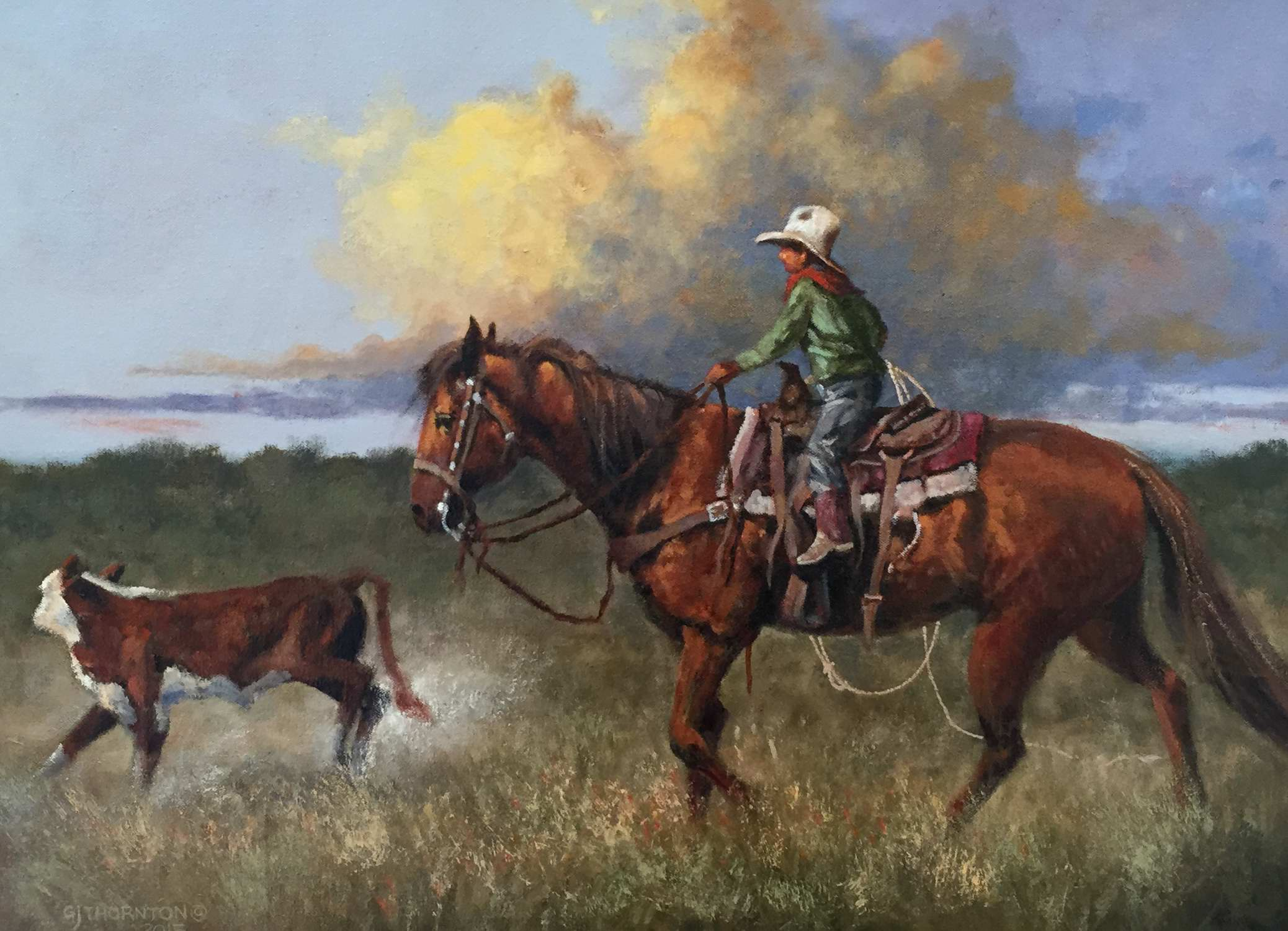 Grandpa's Mare by Mr Gary Jack Thornton - Masterpiece Online