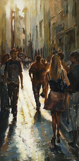 La Passeggiata by Mrs Judy Gelfert - Masterpiece Online