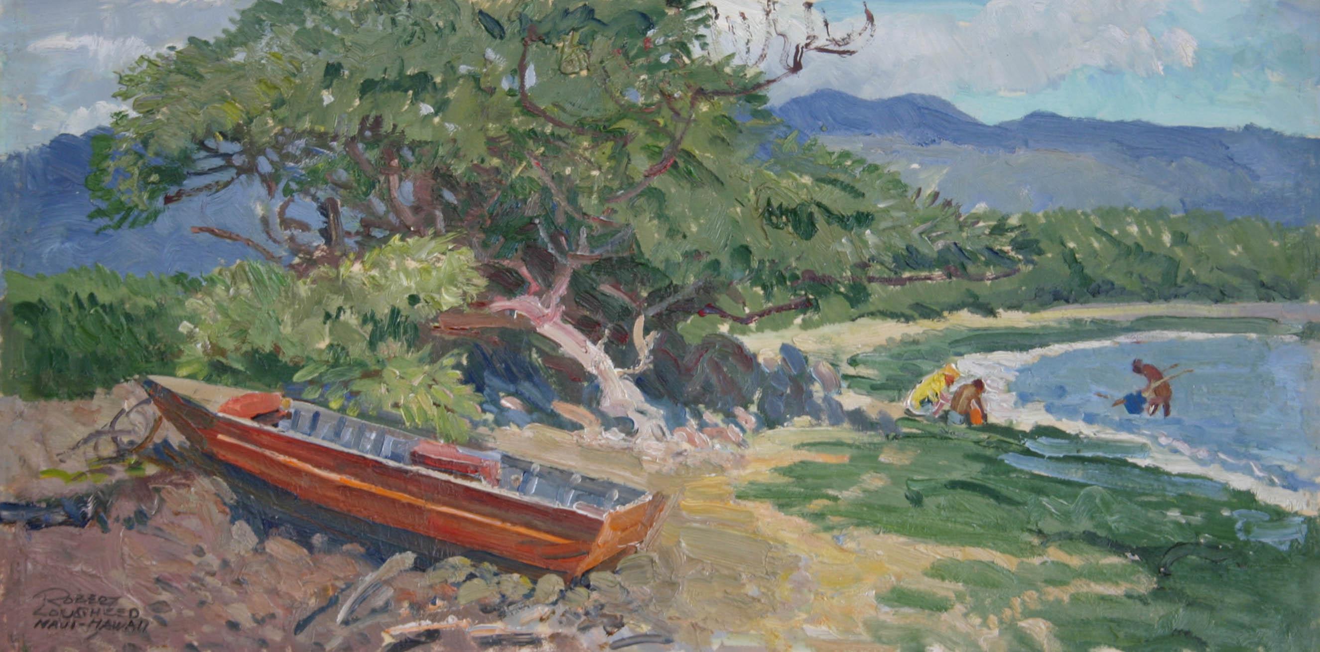 Bait Netters - Maui, ... by  Robert Lougheed - Masterpiece Online