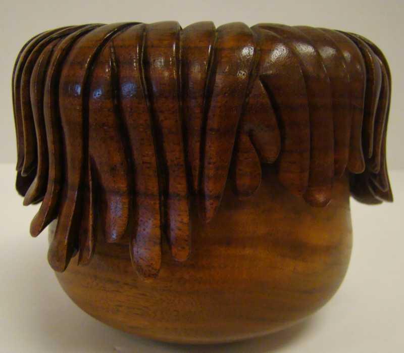 DUD194 Walnut Bowl wi... by  Don Duden - Masterpiece Online