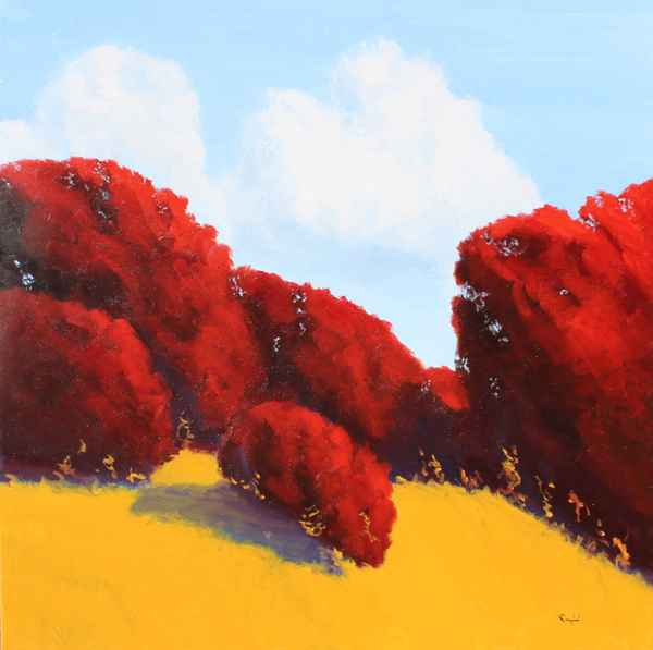 Red Trees by  Donald  Craghead - Masterpiece Online