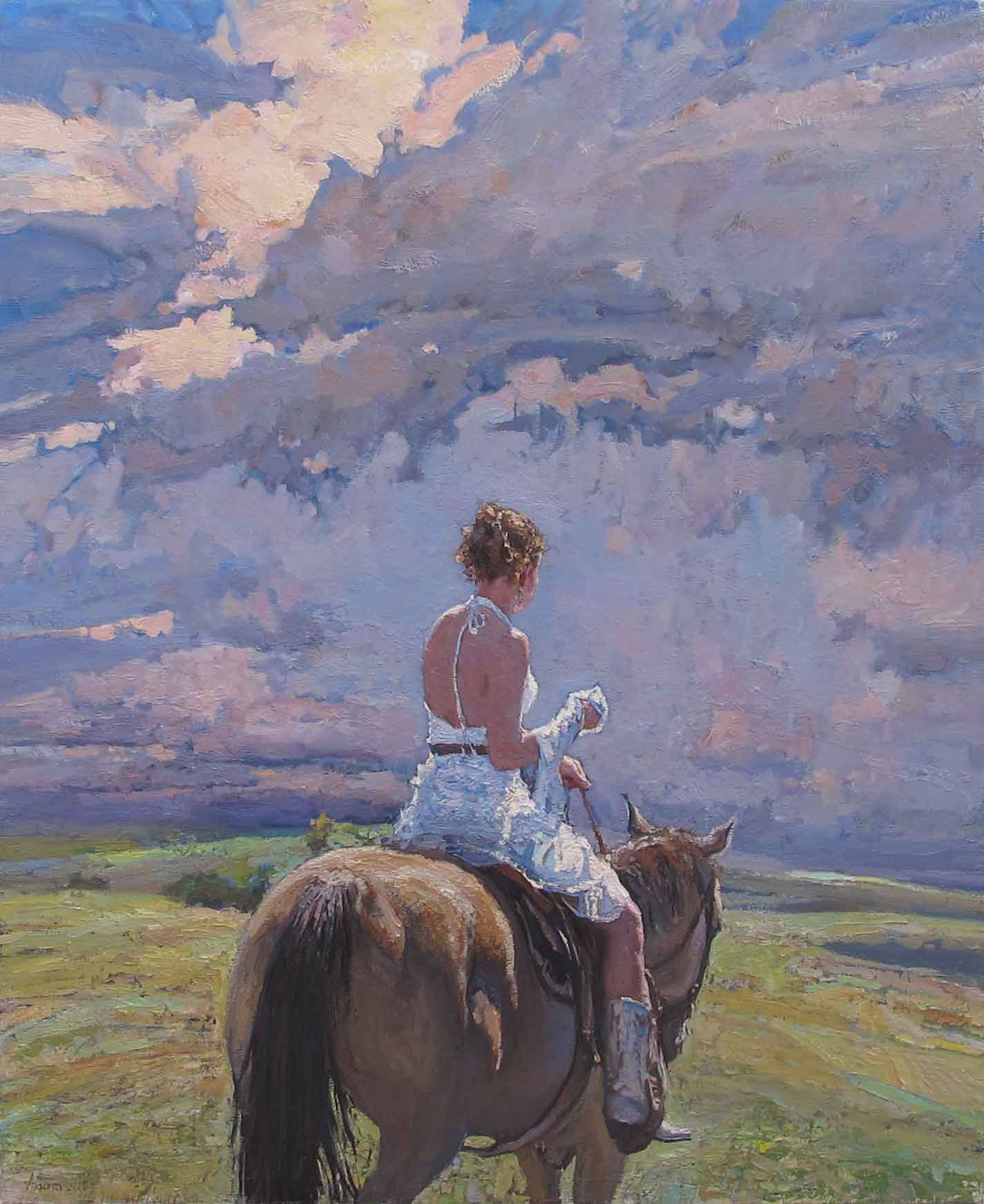 Western Bride, II by  Daud Akhriev - Masterpiece Online