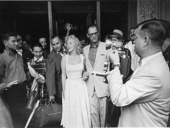 Marilyn Monroe and Ar...