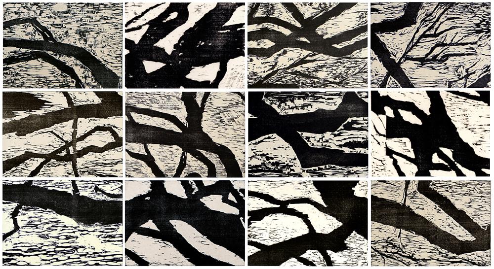 Wild Olive Fragment #6 by  Angela Hayson - Masterpiece Online