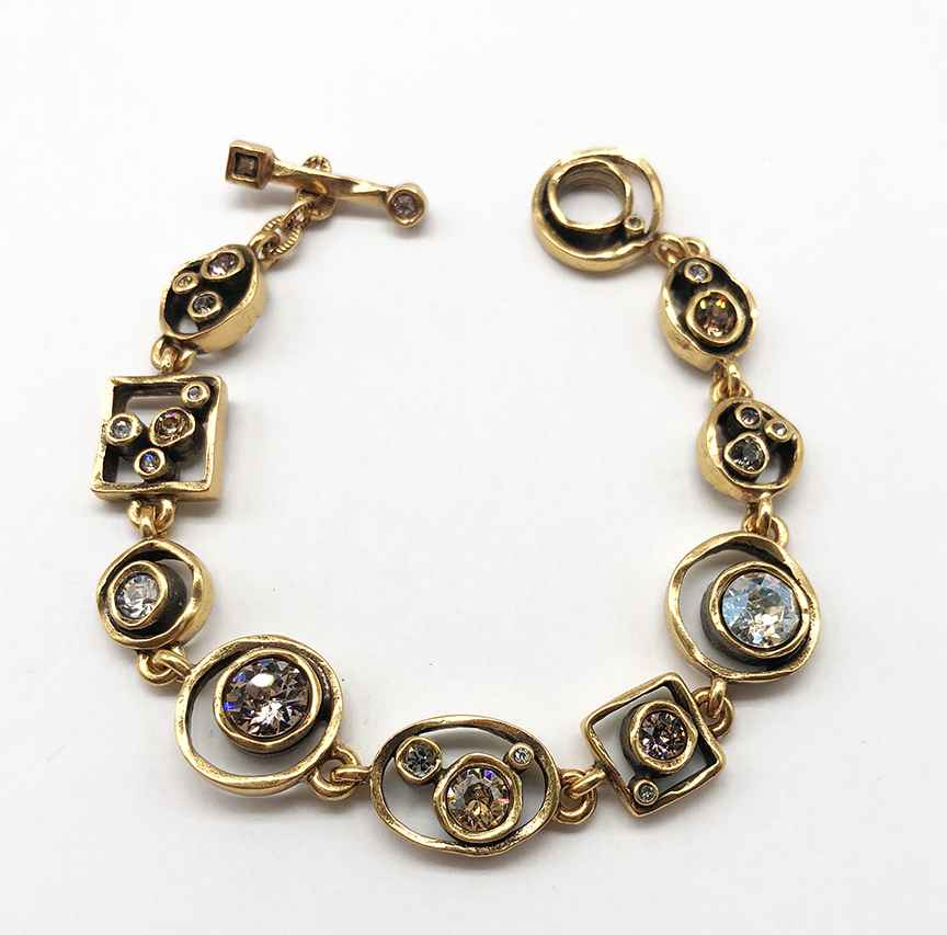 Penny Arcade Bracelet in Gold, Champagne 7 1/4