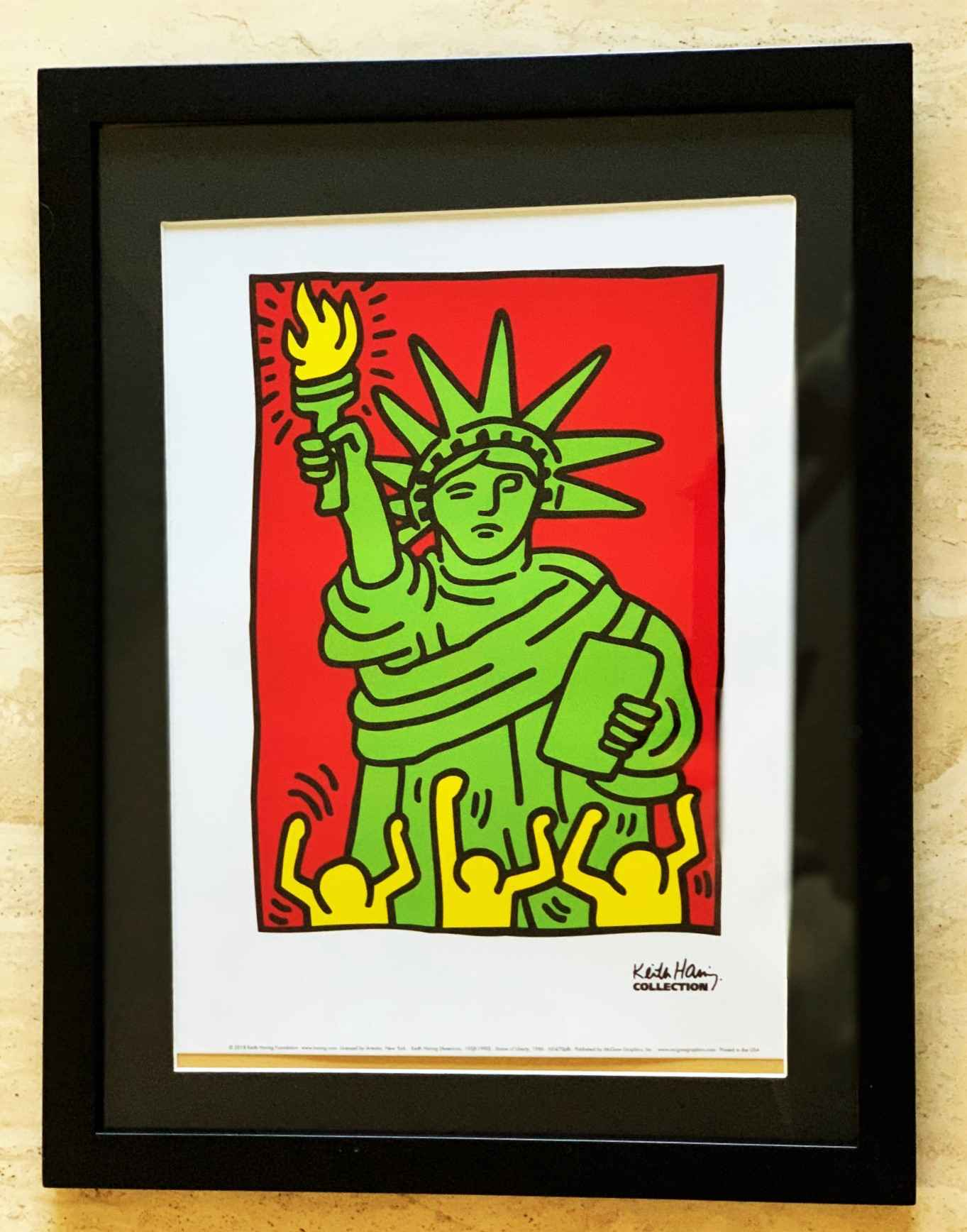 Statue of Liberty by  Keith Haring - Masterpiece Online