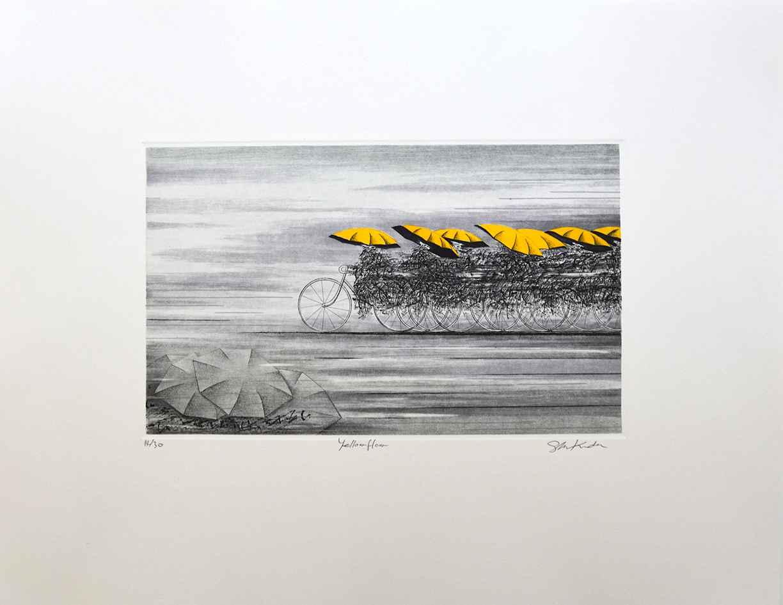 Yellow Flow by  Shigeki Kuroda - Masterpiece Online