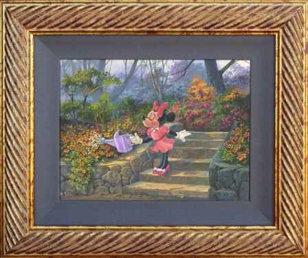 Minnie's Awesome Gard... by  Michael Humphries - Masterpiece Online