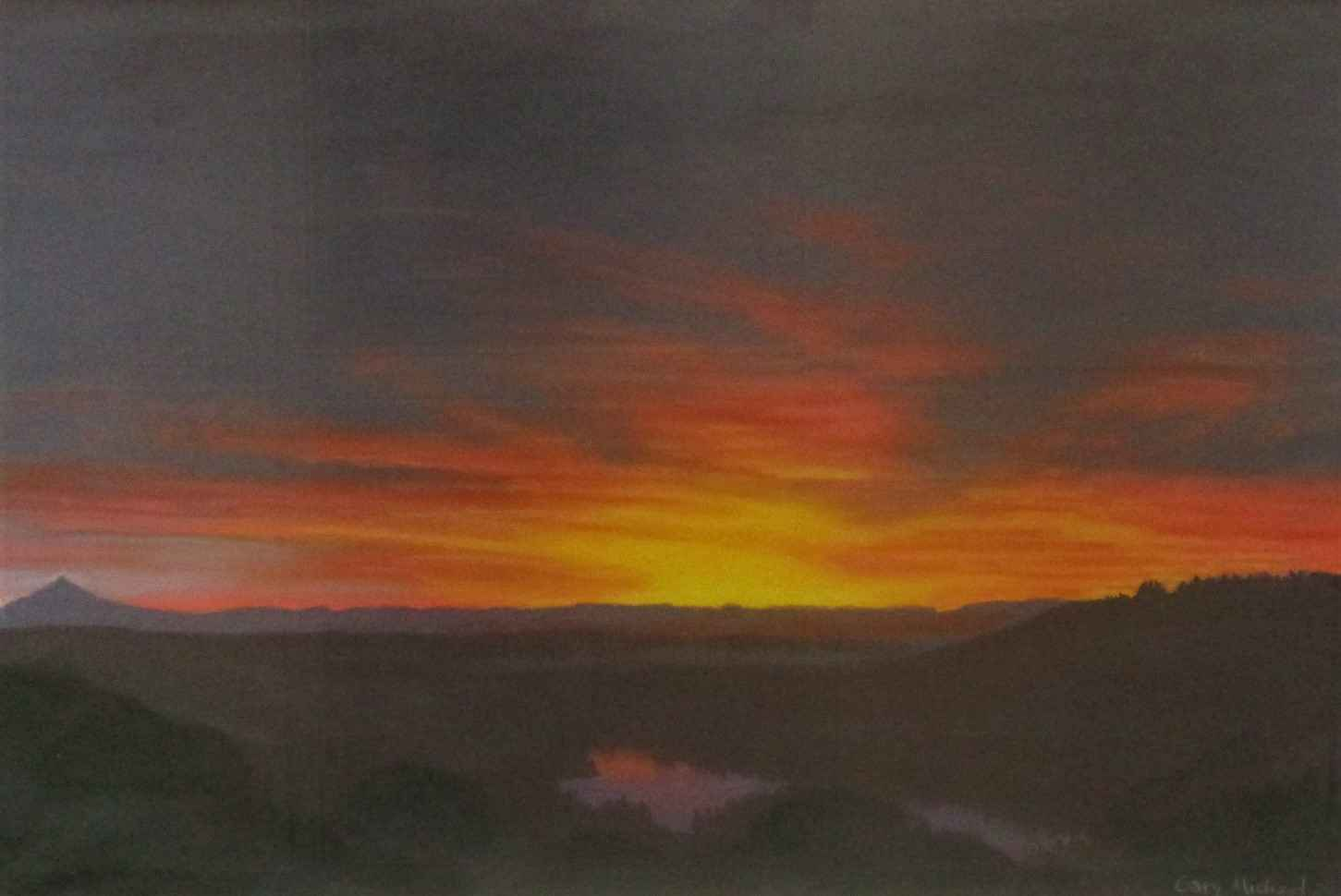 Unknown (Mt Hood morn) by  Gary Michael - Masterpiece Online