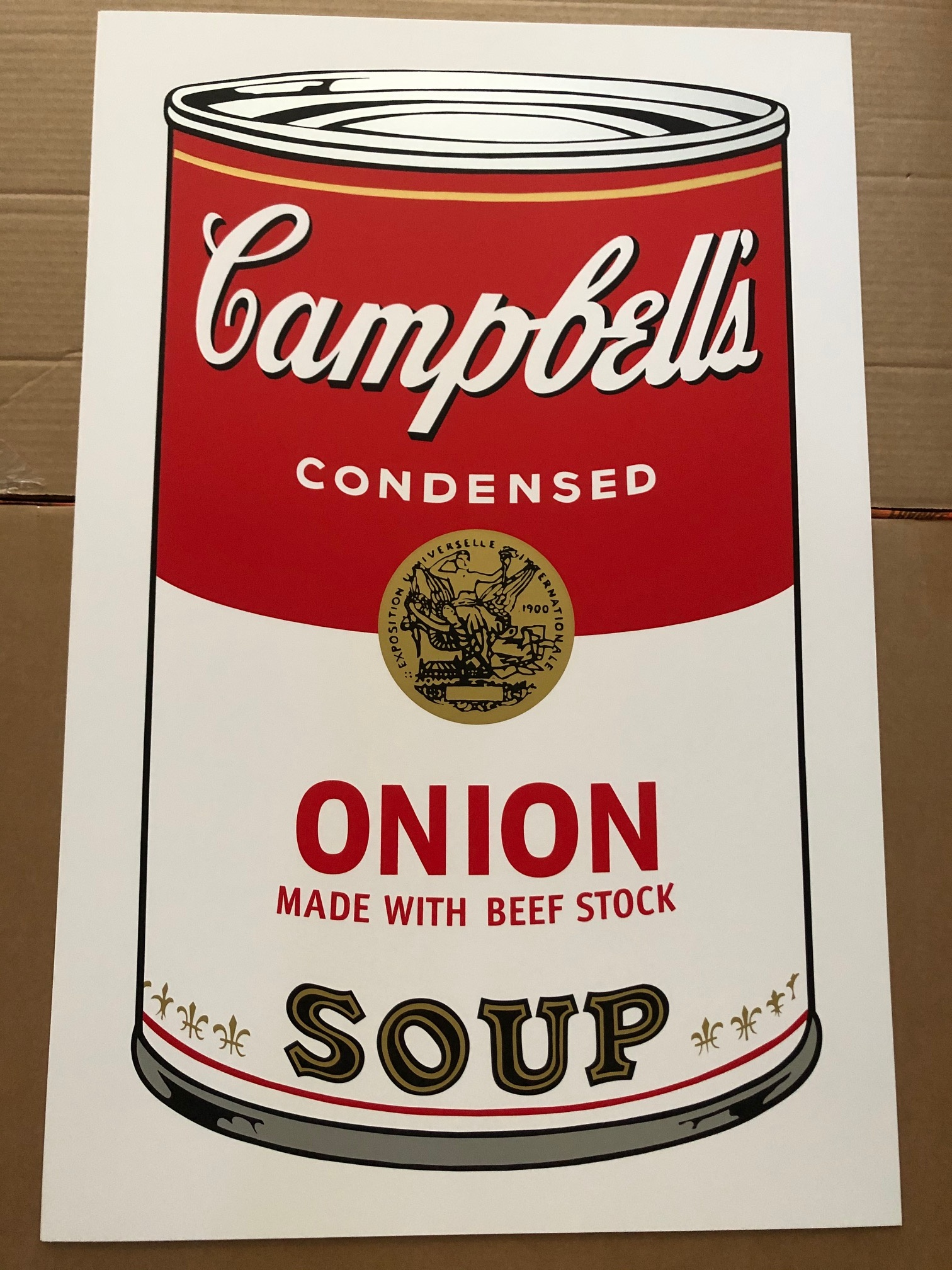 Campbell's Soup 11.47... by  Andy Warhol - Masterpiece Online