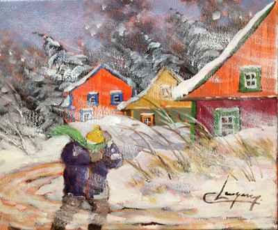 Vents du nord 1023728 by  Claude Langevin - Masterpiece Online