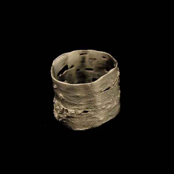 Birch Bark Napkin Rings (Set of 4)