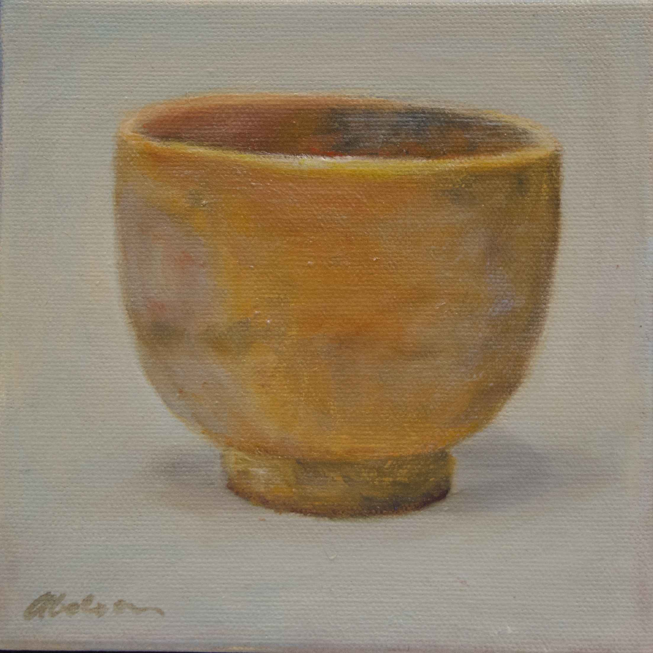 Japanese Teacup I by Myra Abelson - Beacon Gallery