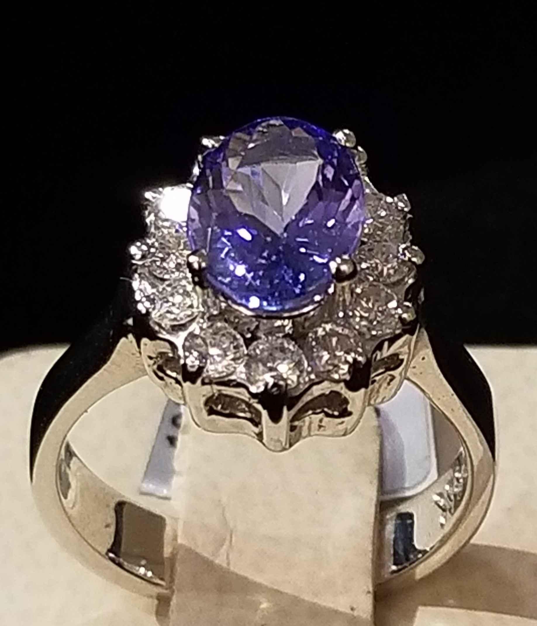 Tanzinite Ring - WG by  My Jeweler - Masterpiece Online