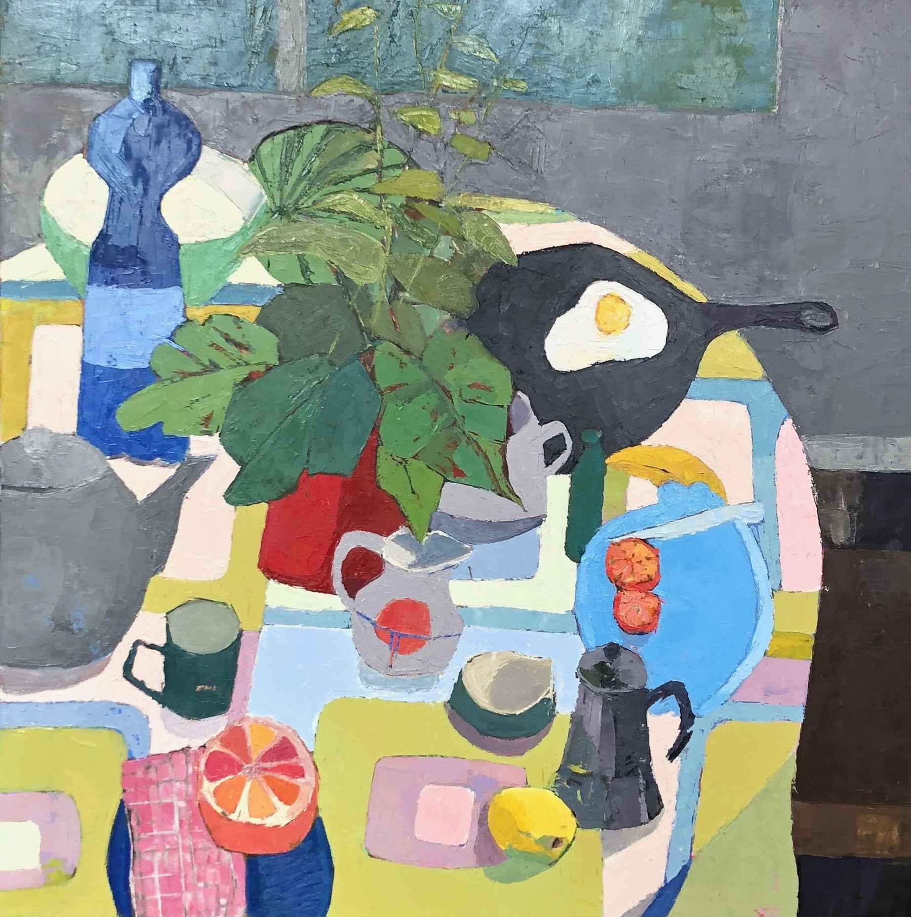 Early Breakfast by  Grace Afonso - Masterpiece Online