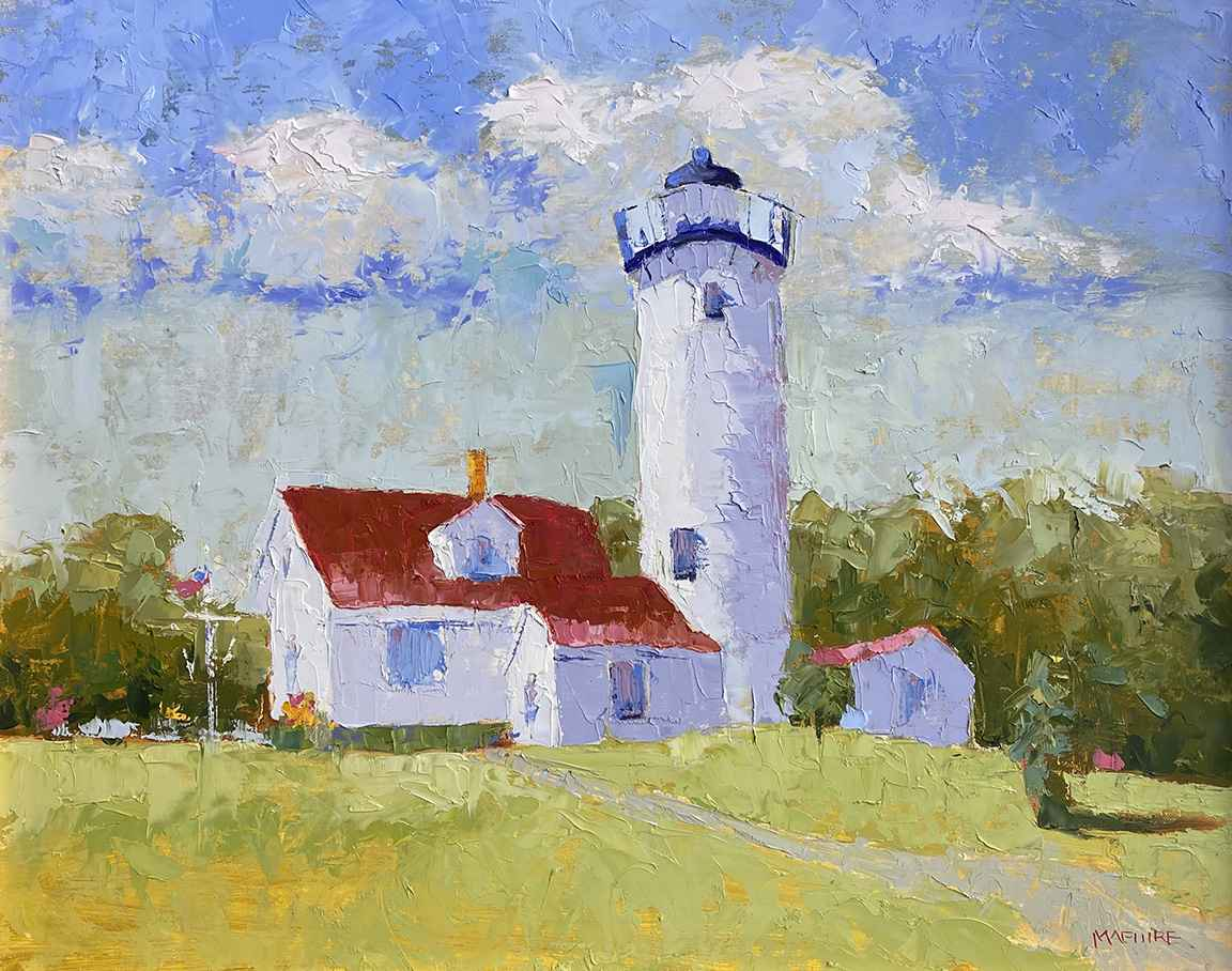 West Chop Lighthouse by  Carol Maguire - Masterpiece Online