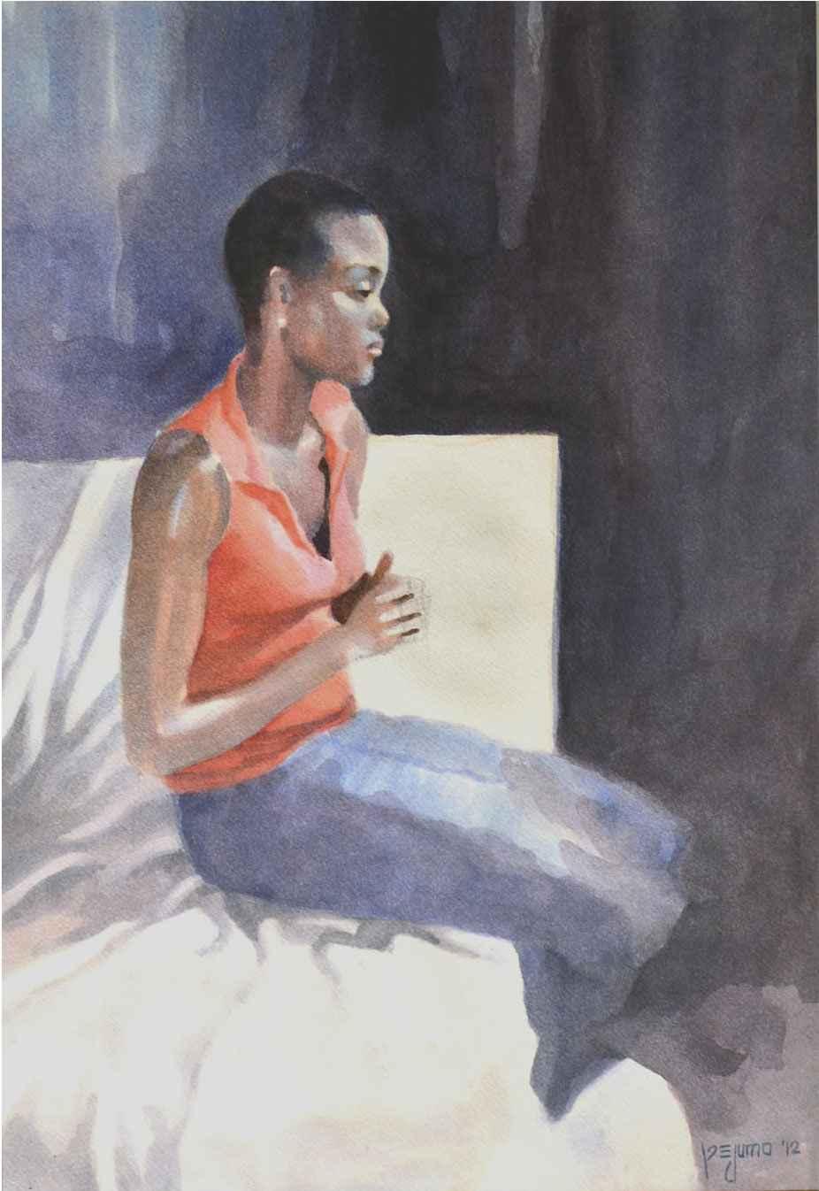 The Anticipation by Mr Segun Adejumo - Masterpiece Online