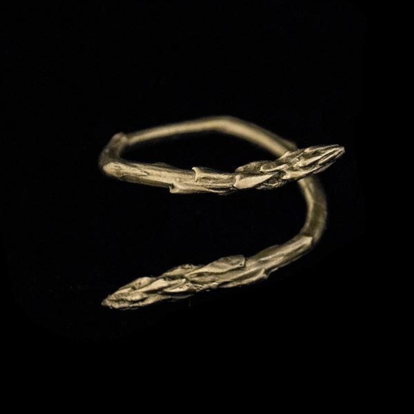 Asparagus Napkin Ring Set of 4