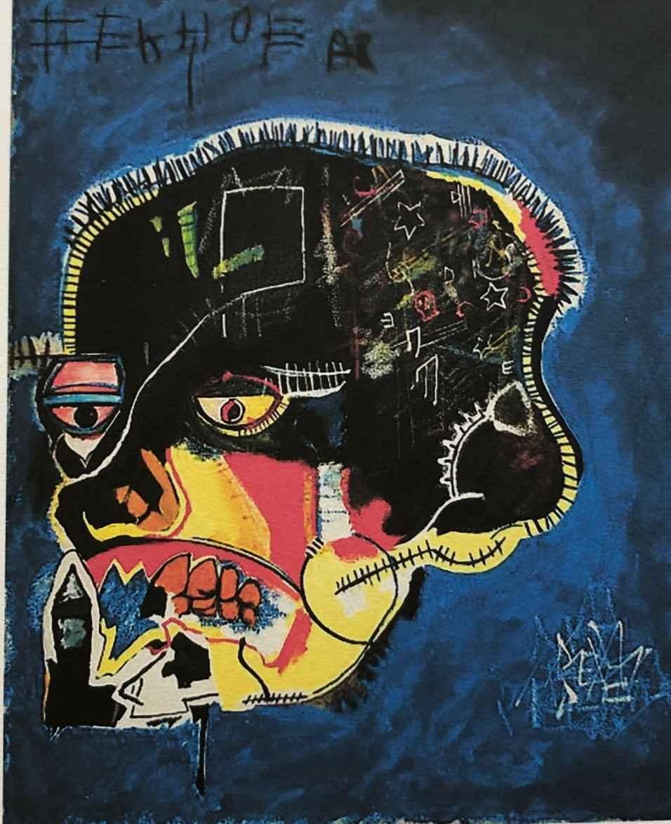 Untitled (Skull) by  Jean-Michel Basquiat - Masterpiece Online