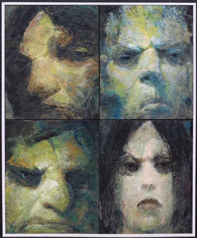 Four Night People by  William Thomson - Masterpiece Online