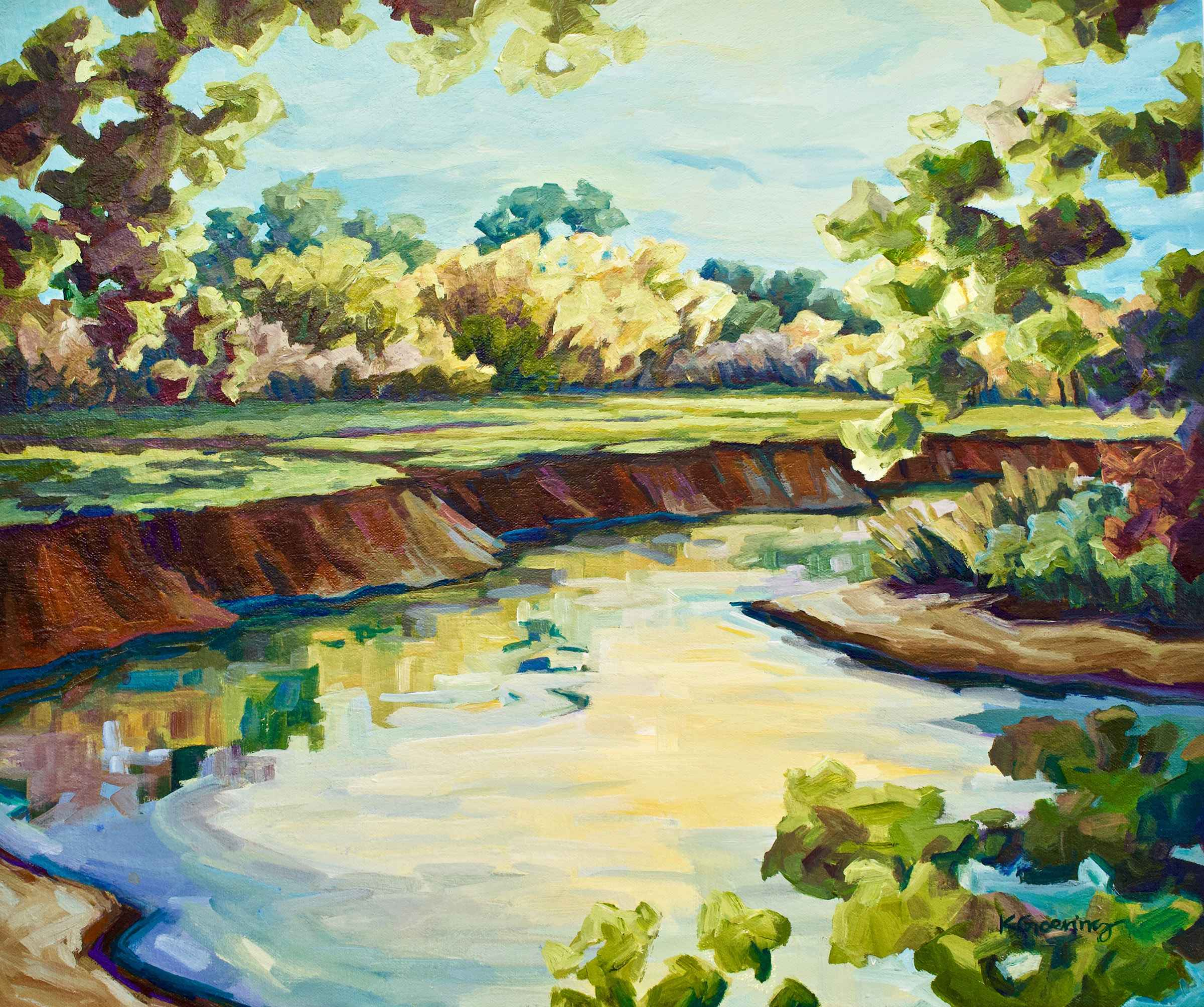 Tomahawk Creek Morning  by  Kristin Goering