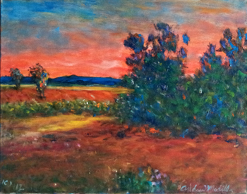 Blazing Sunset by  Andres  Morillo - Masterpiece Online