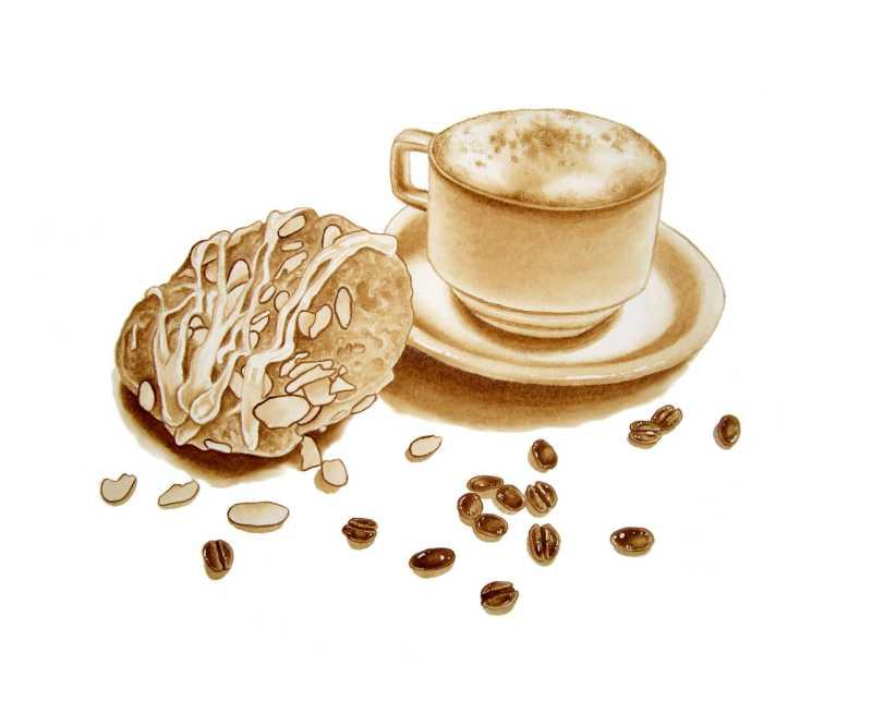 Danish Cappuccino by  Joel Carlson - Masterpiece Online