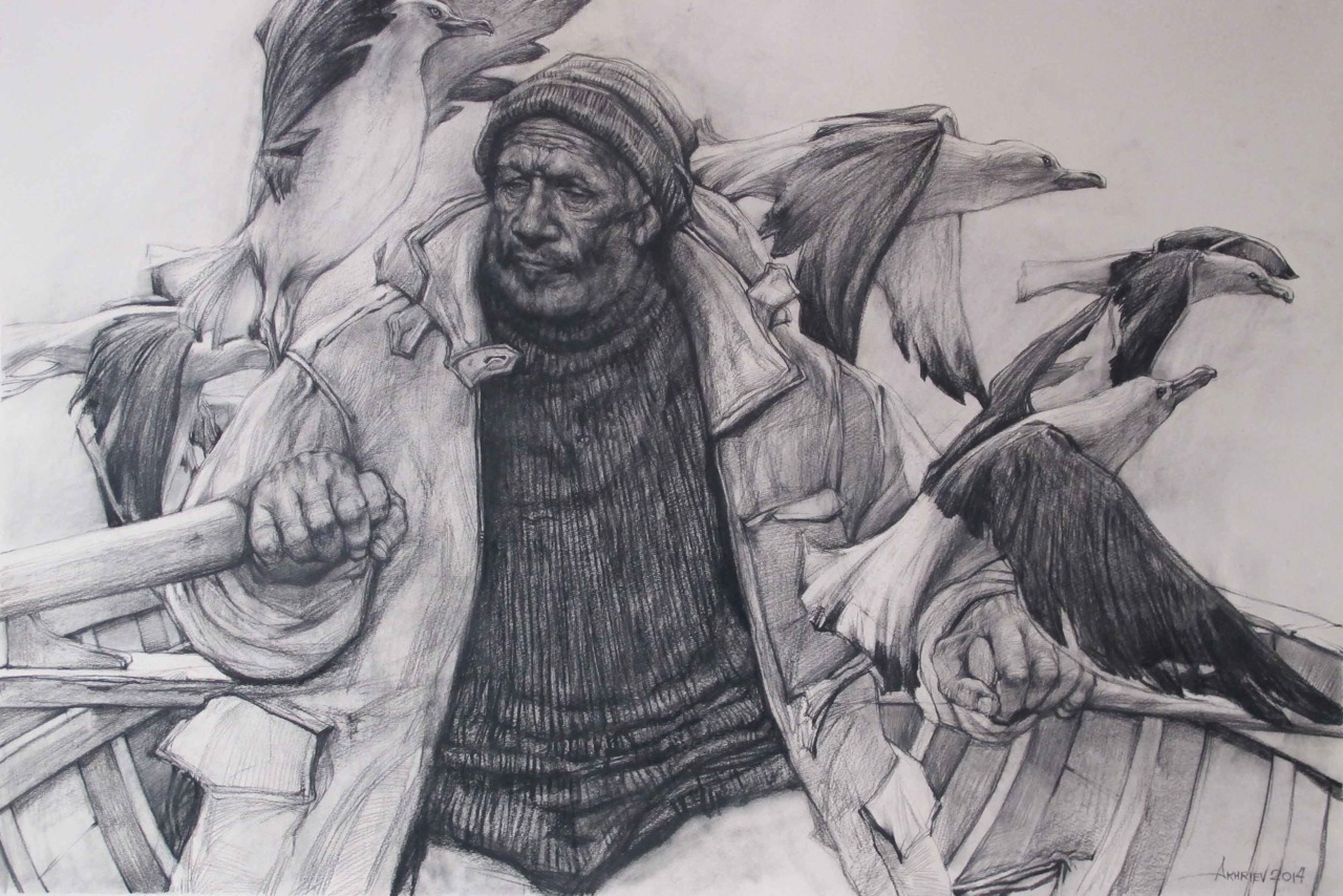 Passing Through by  Daud Akhriev - Masterpiece Online