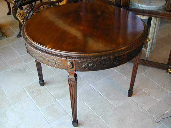 Center Table by   English - Masterpiece Online