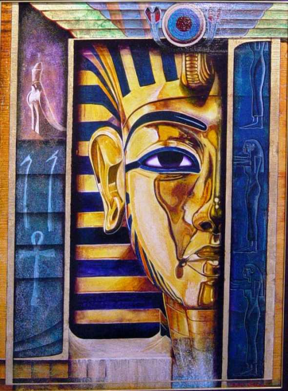 Sands Of Time, Egypti... by  Matthew Smith - Masterpiece Online