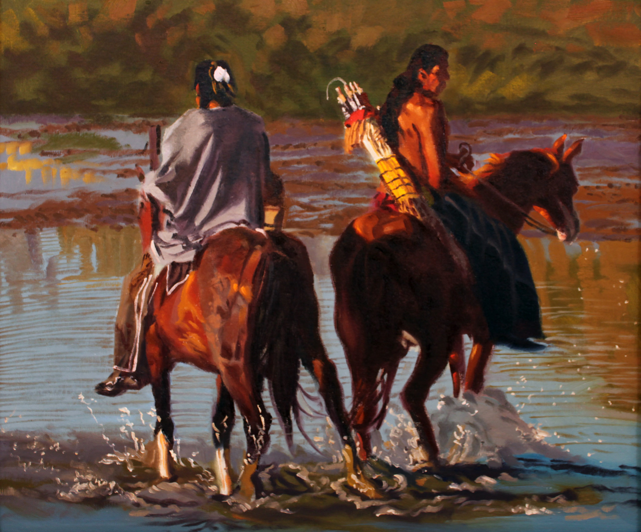 A Place to Cross by  Glen Edwards - Masterpiece Online