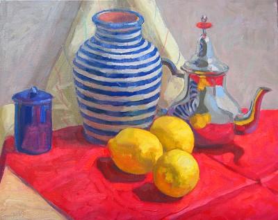 Moroccan Stripes, 1 by  Melissa Hefferlin - Masterpiece Online
