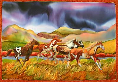 Wild Horse Plains by MS Nancy Dunlop Cawdrey - Masterpiece Online