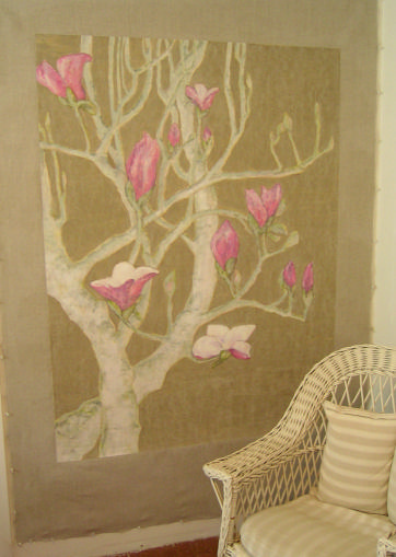 Magnolia Mural by  Suzanne Simson - Masterpiece Online