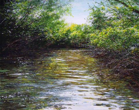 Watery Grove by  Michael Wheeler - Masterpiece Online