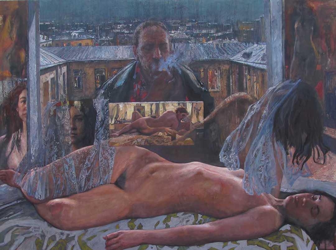 Muse by  Daud Akhriev - Masterpiece Online
