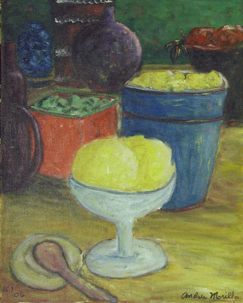 A Cup of Sherbert by  Andres  Morillo - Masterpiece Online