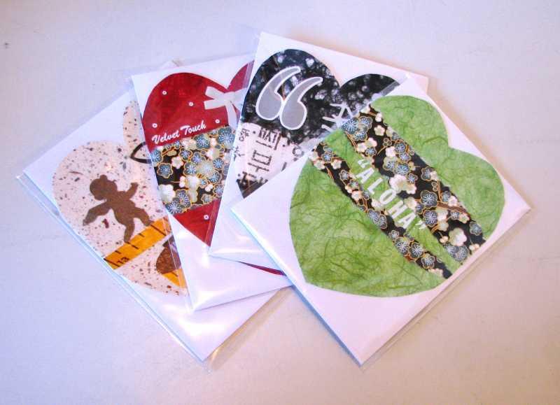 Heartshaped Cards by  Jinja Kim - Masterpiece Online