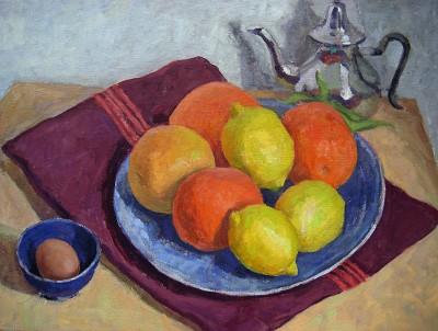 Moroccan Citrus by  Melissa Hefferlin - Masterpiece Online