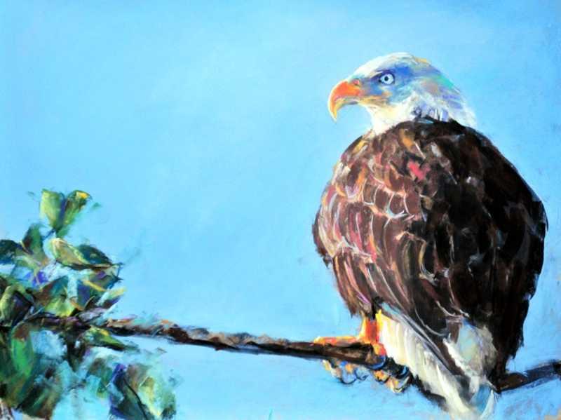 Alaskan Eagle by  Joe Mac Kechnie - Masterpiece Online