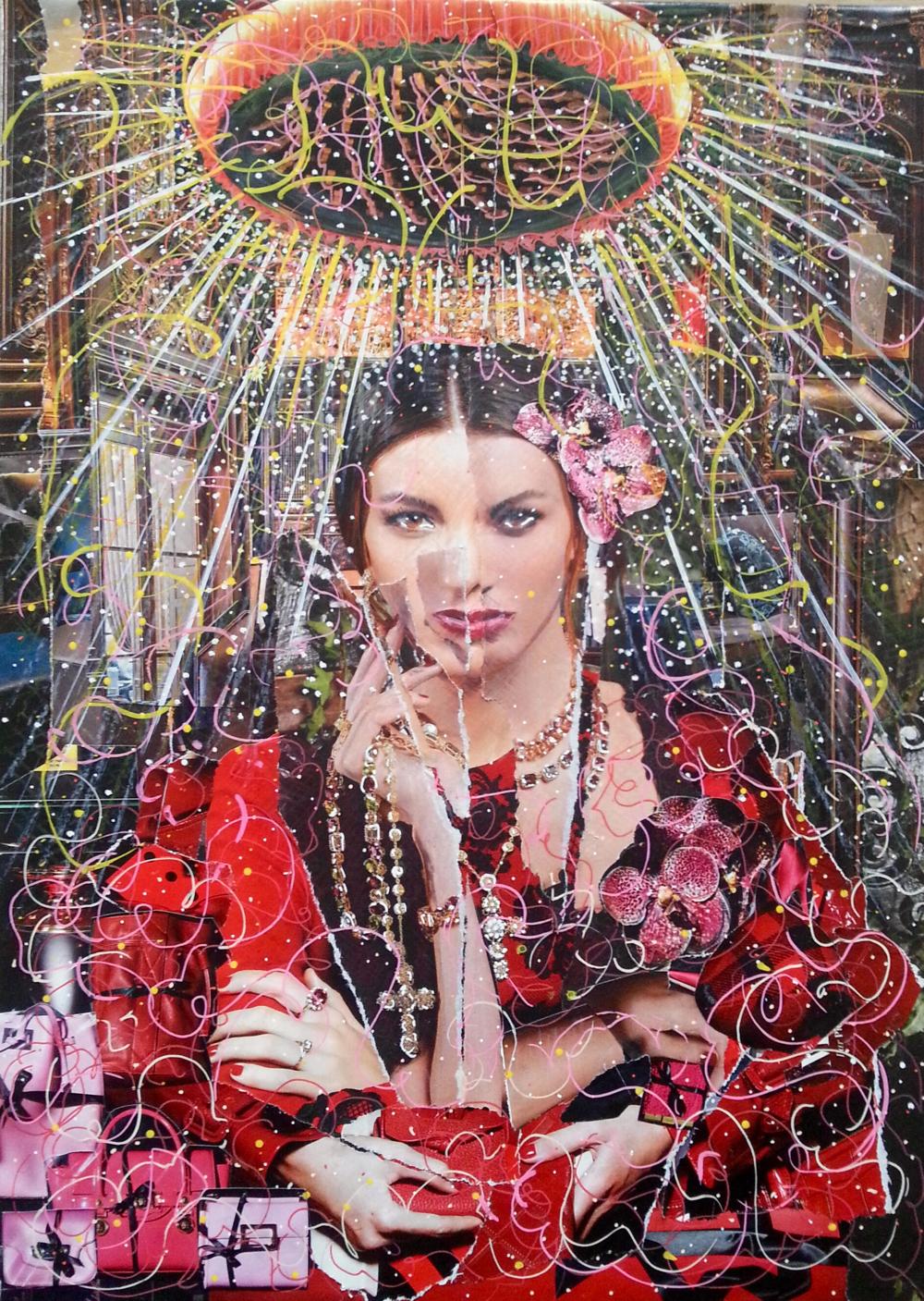 Dolce Gabana sanctifi... by Mme Marianne RUBIO - Masterpiece Online