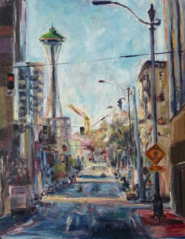 Good Afternoon, Seatt... by  Brooke Borcherding - Masterpiece Online