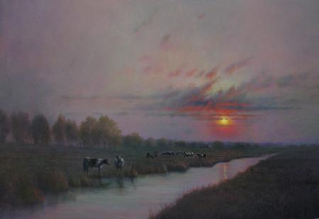 Summer Eve by  Roger  Budney - Masterpiece Online