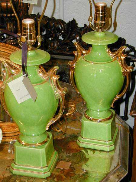 Pair of Urn Shaped La... by  None None - Masterpiece Online