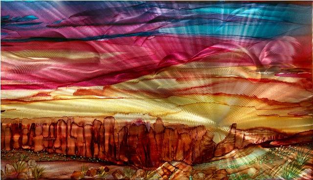 Red Rocks by  Lynn Rae Lowe - Masterpiece Online